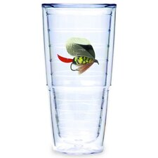 Fish Flies Brown 24 oz. Big-T Tumbler (Set of 2)