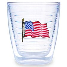 American Flag 12 oz. Tumbler (Set of 4)
