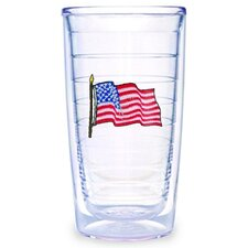 American Flag 16 oz. Tumbler (Set of 4)