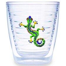 Tropical and Coastal Gecko 12 oz. Insulated Tumbler (Set of 4)