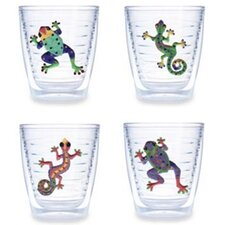 Gecko / Frog Assorted 12 oz. Tumbler (Set of 4)