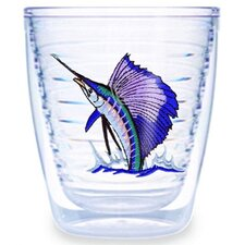 Guy Harvey Sailfish 12 oz. Tumbler (Set of 4)