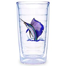 Guy Harvey Sailfish 16 oz. Tumbler (Set of 4)