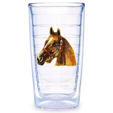 Animals and Wildlife Horsehead 16 oz. Insulated Tumbler (Set of 4)