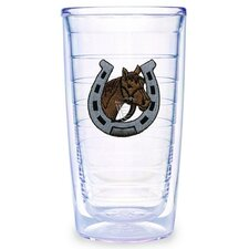 Horseshoe and Horse 16 oz. Tumbler (Set of 4)