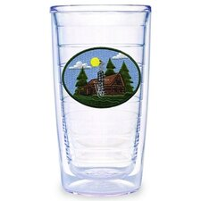Log Cabin 16 oz. Tumbler (Set of 4)