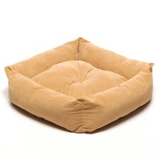 Microfiber Square Pet Bed