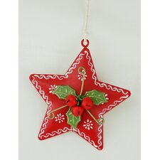 Star Hanging Ornament (Set of 4)