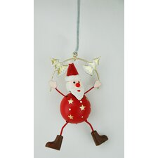 Santa Spring Hanging Ornament (Set of 4)