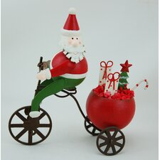 Santa Cycling (Set of 2)