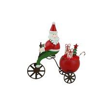 Santa Cycling (Set of 2)