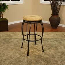 Padova Stool in Coco with Camel Microfiber