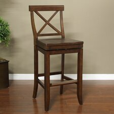 "Stetson 30"" Swivel Bar Stool"
