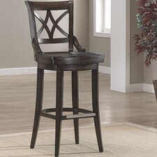 "<strong>American Heritage</strong> Freemont 26"" Swivel Bar Stool"