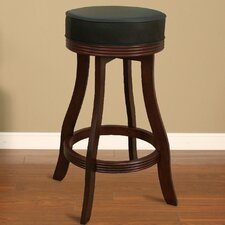 "30.5"" Swivel Bar Stool with Cushion"