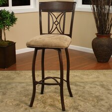 Artista Swivel Bar Stool with Cushion