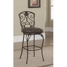 "Canterbury 26"" Bar Stool with Cushion"