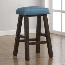 "Saddle 26"" Bar Stool with Cushion"