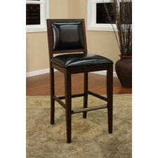 "Bryant 30"" Adjustable Bar Stool with Cushion (Set of 2)"