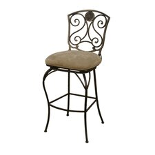 "Canterbury 34"" Extra Tall Swivel Barstool"