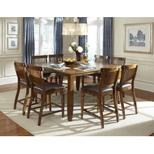 <strong>American Heritage</strong> Delphina 9 Piece Counter Height Dining Set