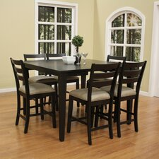 Este 7 Piece Counter Height Pub Set