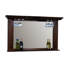 <strong>American Heritage</strong> Napoli Mirror with Glass Holders in Sierra