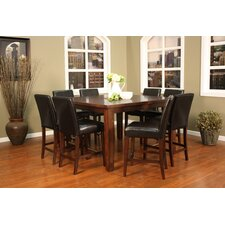 <strong>American Heritage</strong> Cameo 9 Piece Counter Height Dining Set