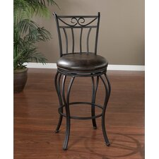 <strong>American Heritage</strong> Arvada Bonded Leather Stool
