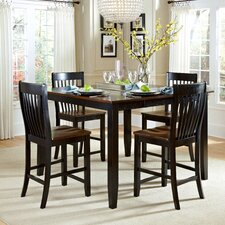 Ellington 5 Piece Counter Height Dining Set