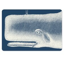 Scrimshaw 2 Piece Whale Serving Tray Set