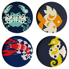 "Amalfi 11"" Dinner Plate (Set of 4)"