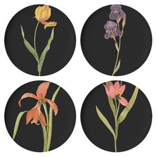 "Florilegium 9"" Dessert Plate (Set of 4)"