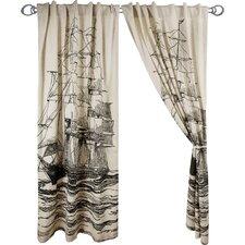 Maritime Window Curtain