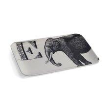 Alphabet E Elephant Serving Tray