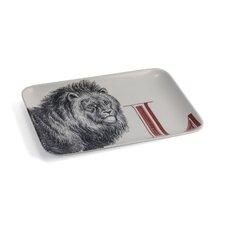 Alphabet L Lion Serving Tray