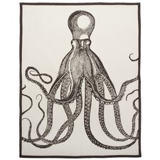 Octopus Tea Towel in Java