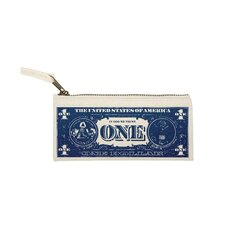 Big Business Dollar Pouch in Blue