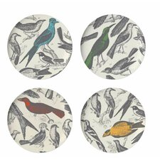 <strong>Thomas Paul</strong> Ornithology Dinner Plate (Set of 4)