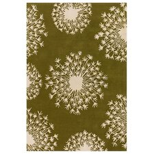 Tufted Pile Kiwi/Cream Seed Rug