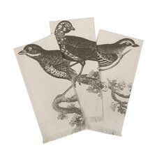 <strong>Thomas Paul</strong> Ornithology Hand Towel (Set of 3)