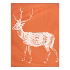 Baby Deer Alpaca Throw