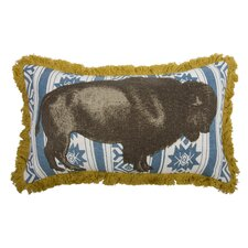 <strong>Thomas Paul</strong> Menagerie Bison Pillow