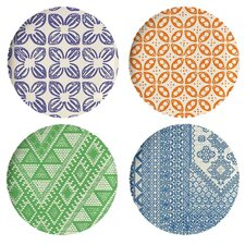"Bazaar 9"" Side Plates (Set of 4)"