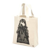 Luddite Handbag Tote in Black