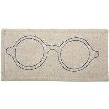Eyeglass Embroidered Case