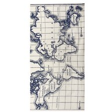 World Map Scarf