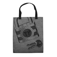Lock Key Tote Bag