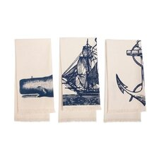 <strong>Thomas Paul</strong> Seafarer Hand Towel (Set of 3)