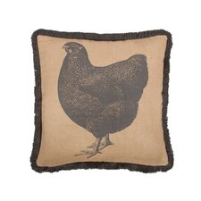 "18"" Hen Pillow"